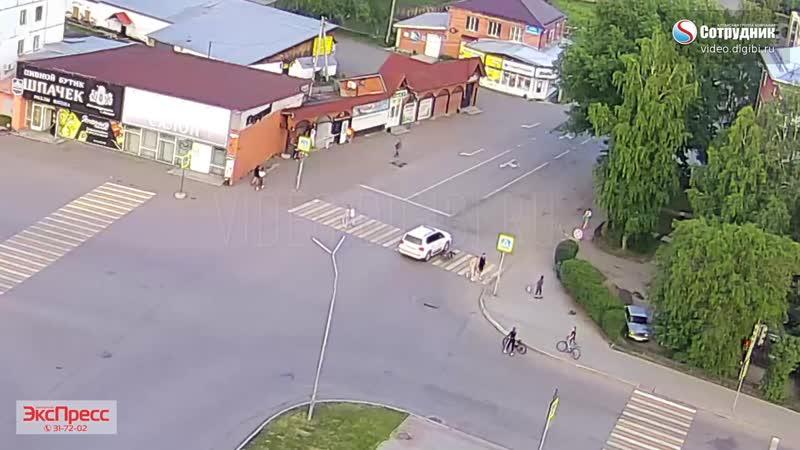 ДТП на перекрёстке Мясникова - Партизанская Белокуриха.