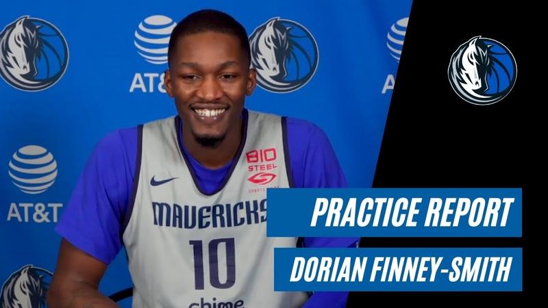 Mavs Practice Report Dorian Finney Smith 01 26 21