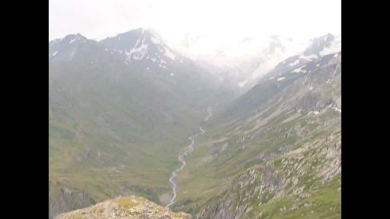 Черекское ущелье с Левкановцека
