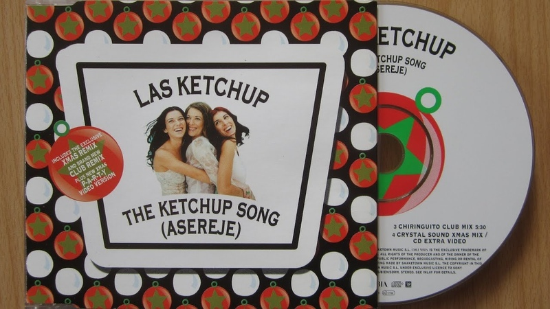 Las Ketchup The Ketchup Song Asereje unboxing cd single