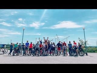 Велопоездка на Светлую поляну 2020г.