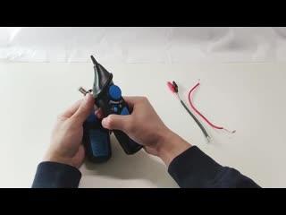 Кабельный трекер. Определеляет скрытую проводку под штукатуркой. Без этого прибора как без рук