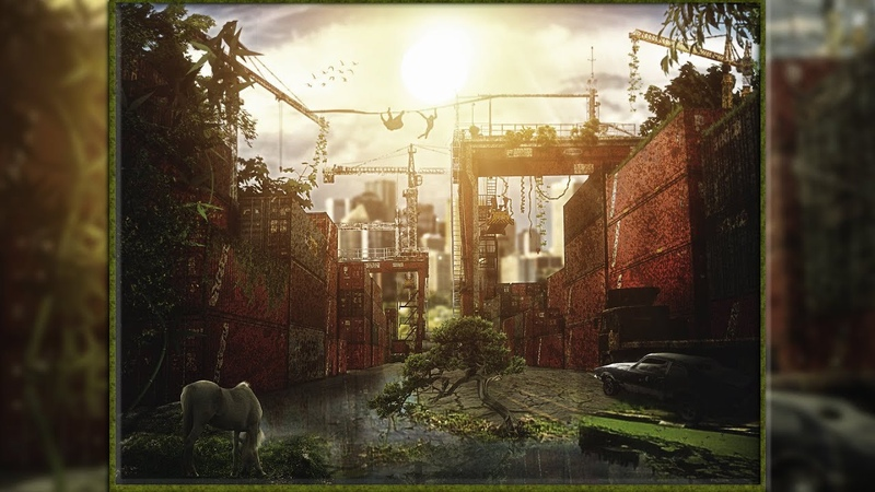 Speed Art Adobe © Photoshop® Manipulation Apocalipse Containers Port Area
