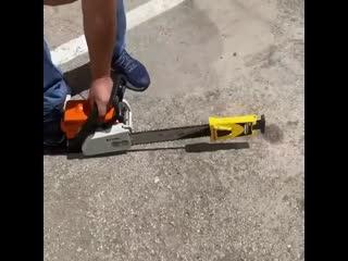 Как быстро заточить бензопилу