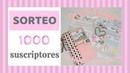SORTEO 1000 SUSCRIPTORES EN YOUTUBE 🎁🎁🎁🎁🎁🎁
