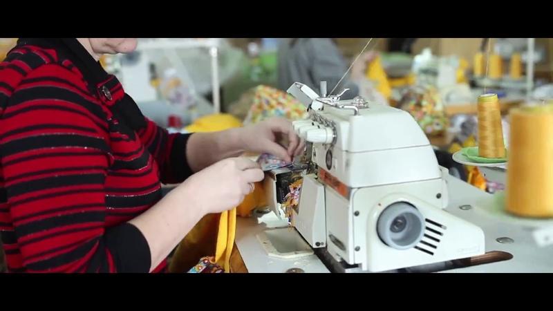 Фабрика детской одежды Утенок Видео о компании
