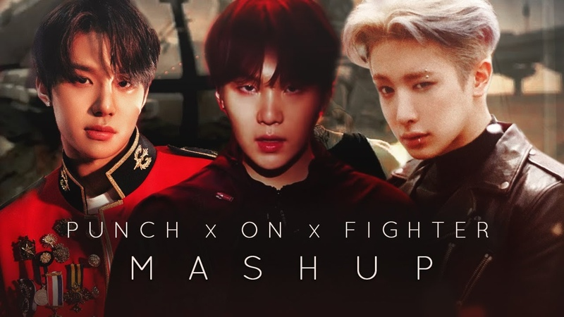 NCT 127, BTS, MONSTA X — PUNCH x ON x FIGHTER (MASHUP)