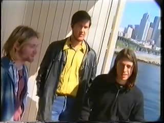 Август 1993 - Nirvana. Интервью /Edgewater Hotel, Сиэтл/, [Edgar Klüsener]