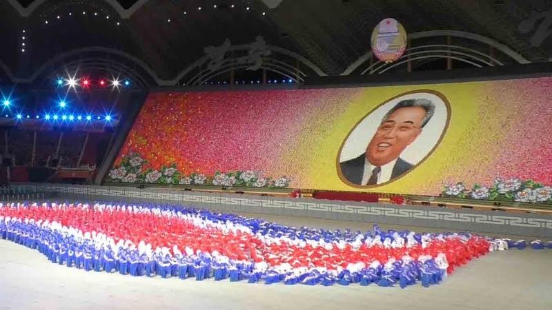 北朝鮮のマスゲーム
