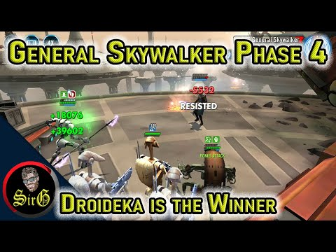 Clash on Kamino Phase 4 Guide Droideka almost single handedly wins it with G12 toons