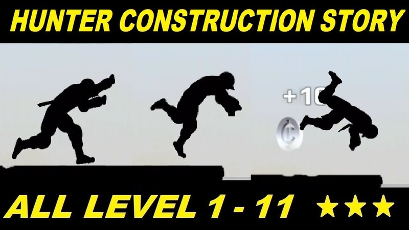 Vector Full - Hunter Mode Construction Yard Story All Level 1 - 11 HD (All 3 Stars)