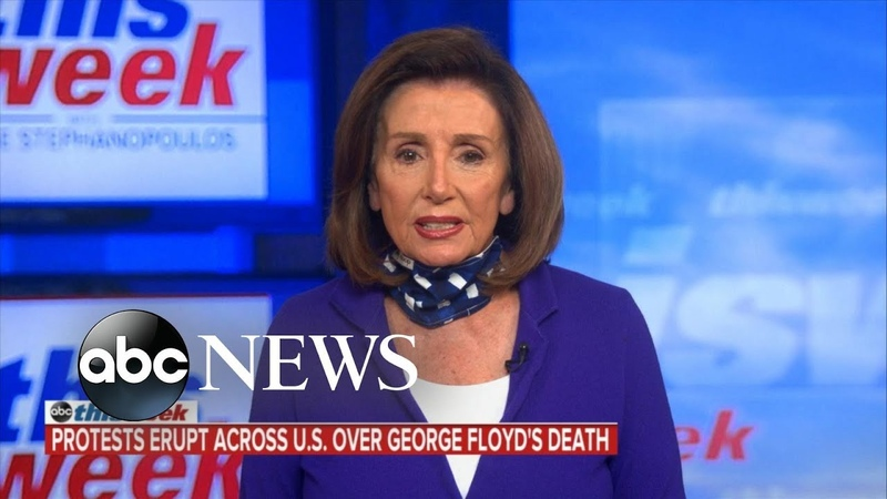 '20 05 31 To take Trump's bait time and time again is just a gift to him' Nancy Pelosi ABC News