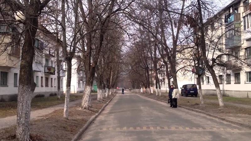 Прогулка по смт Десна на мотоцикле