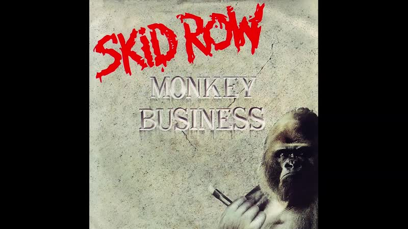 Skid Row Monkey Business Volva Котэ Bass Cover