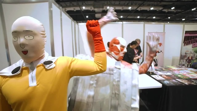 One Punch Man at the Comic Con 2016 · coub, коуб
