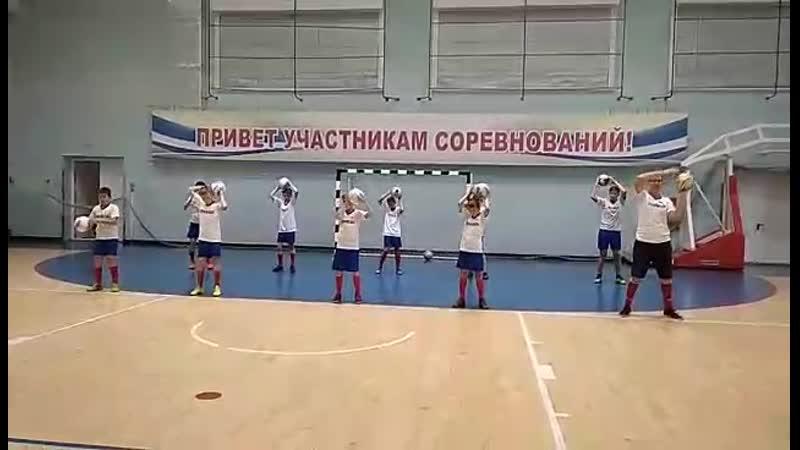 Футболисты ДЮСШ Прибой