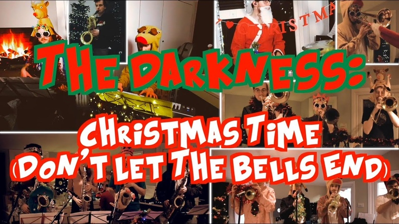 The Stretchy Legs Big Band Christmas Time Don't Let The Bells End The Darkness cover