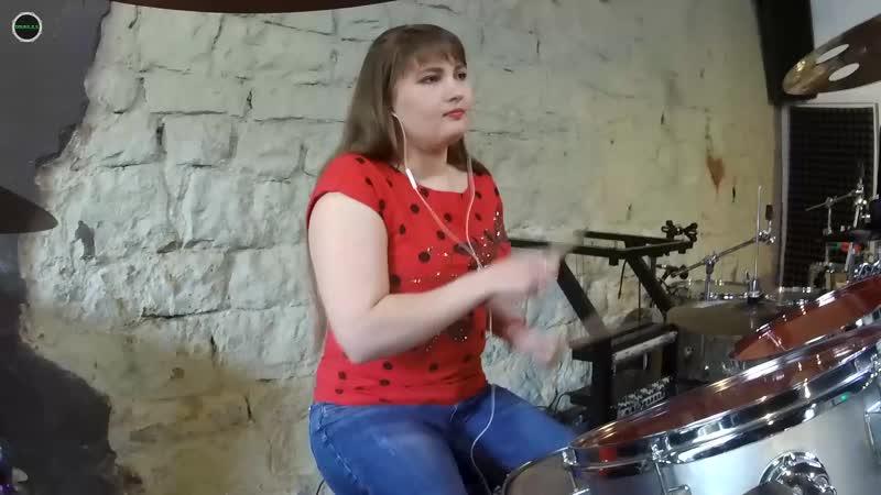 Полина Бондарь Сдавайся Сергей Лазарев Drum Cover