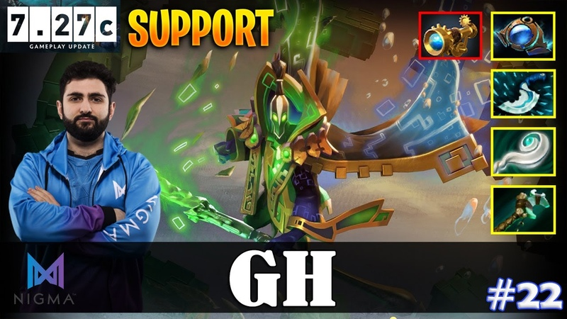GH Rubick Offlane SUPPORT Pos 4 7 27c Update Patch Dota 2 Pro MMR Gameplay 22