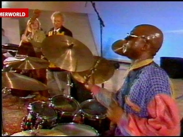 Ralph Peterson Jr DRUM SOLO with Charles Lloyd 1993