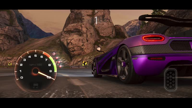 Need for speed - No limits - Mountain Madness - Koenigsegg one:1 - 1037pr - Rival