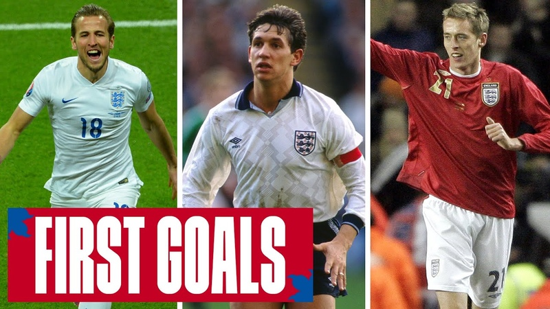 KANE LINEKER CROUCH Memorable First Goals From 10 England Stars England