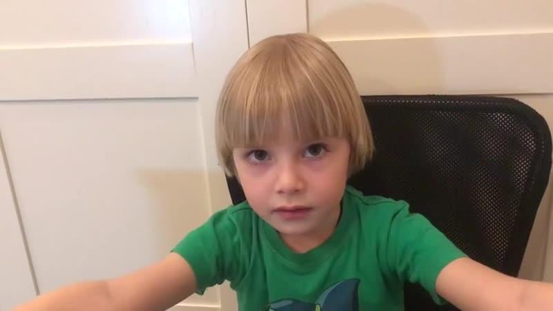 Капустин Иван, 5 лет. Тренер Т. Савина