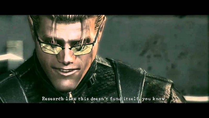 Resident Evil 5 PC Mod Retarded Wesker