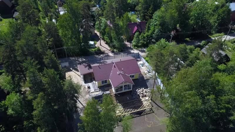 Каркасный дом Вуокса от ЮККА Дом