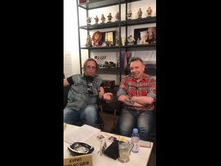 Гарик Сукачёв и Иван Охлобыстин - Прямой эфир Instagram (.)