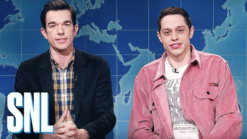 Weekend Update Pete Davidson John Mulaney Review Clint Eastwood's The Mule SNL