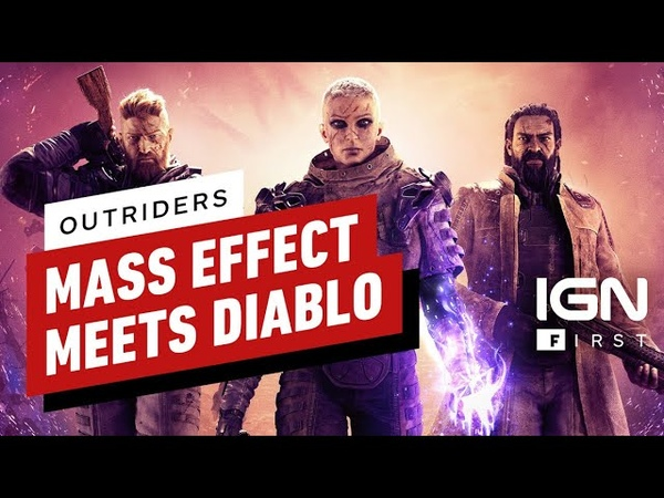 Outriders Hands On Mass Effect Meets Diablo