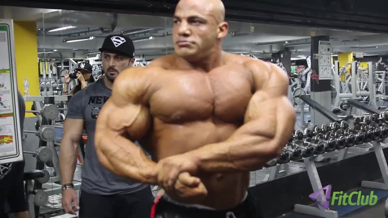 BIG RAMY Treinando Poses - Exclusivo 4FitClub