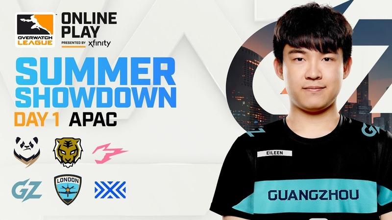 Quarter Final A Chengdu Hunters vs Guangzhou Charge Summer Showdown APAC Day 1