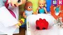 ЧТО ЗА ЧУДО В МОЕЙ ВАННОЙ ВОТ ЭТО ПОВОРОТ. Катя и Макс веселая семейка кукол мультики