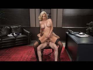 Nicolette Shea - Boss For A Day (Big Ass, Big Tits, Blonde, Blowjob, Office, Work Fantasies)