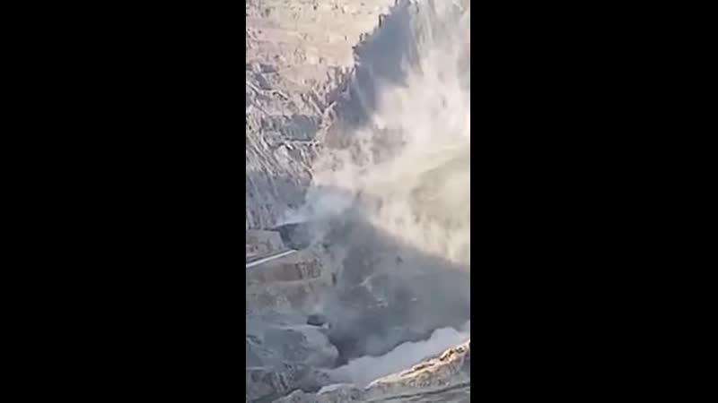 Landslide in an open pit mine Carmen Pit Brgy Biga Toledo City