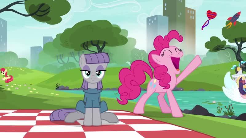 Pinkie Maud Pie Its the Pie Sisters Swap Day Sooooooong Hey