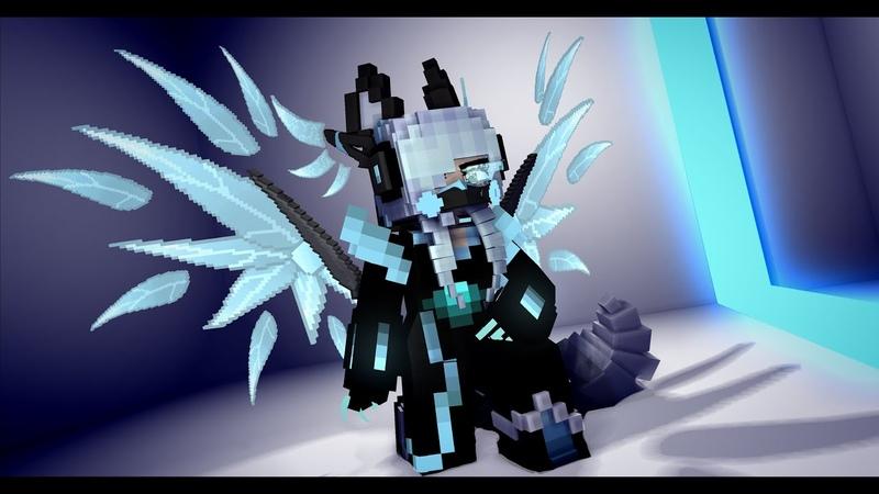 Test-Techno wings |Mine-imator| [Mincraft Animation]