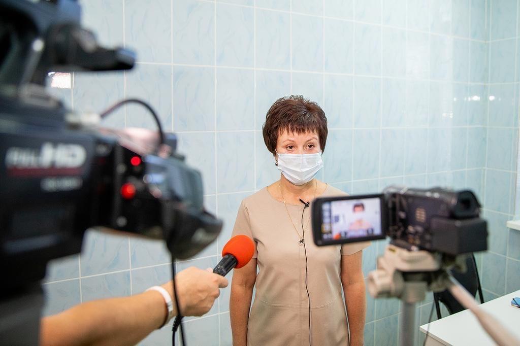 Глава Администрации Таганрога Андрей Лисицкий привился против гриппа