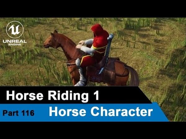 Unreal Horse Riding 1 Horse Character UE4 Tutorials 116