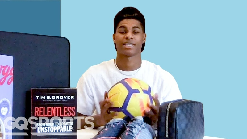 10 Things Marcus Rashford Can't Live Without GQ Sports
