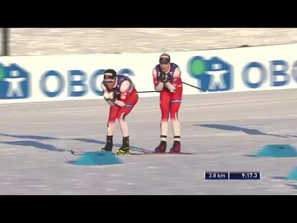 Скиатлон 30 км Лиллехаммер 07 12 2019