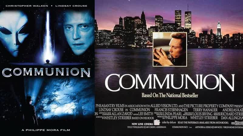Контакт Communion 1989 США Великобритания ужасы фантастика триллер драма биография BDRemux 1080p Расшир версия MVO ТВ 3
