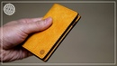 Making a simple vertical card wallet
