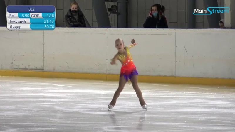 Angelina Gracheva мл вз SP Первенство Москвы мл вз 2021