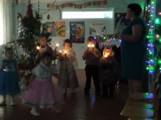 """Новогодний утренник """"Рождественская Елка"""" в дс """"Журавушка"""" с.Идакра"""