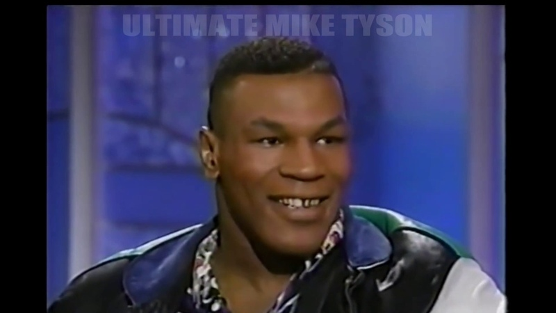 MIKE TYSON ON ARSENIO HALL AFTER THE RUDDOCK FIGHT 91