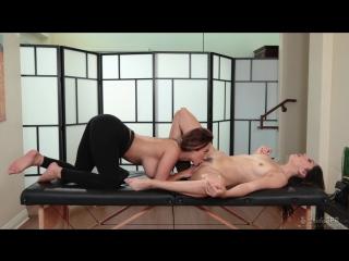 Reena Sky, Judy Jolie - Last-Minute Switch [Oil, Pussy Licking, Big Tits, 69, Lesbians, Fingering, Natural Tits, Massage, 1080p]