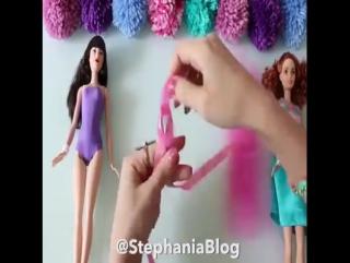 Делаем наряды для кукол сами